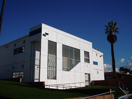 Santa Monica High School Language Arts Building